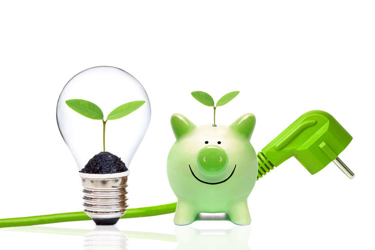 Sparen für die Umwelt